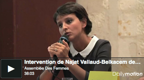 Intervention de Najat Vallaud-Belkacem, La Rochelle-23 août
